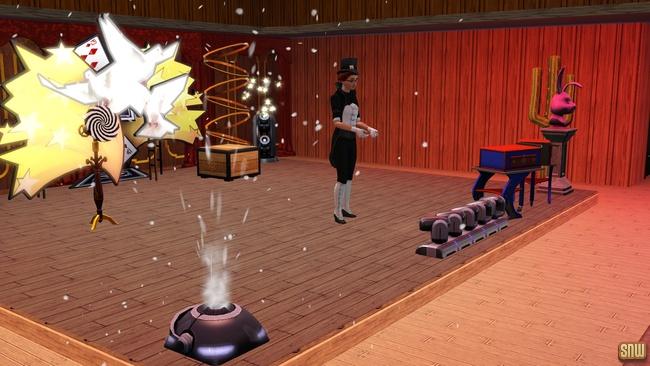 De Hypnotiseur (premium content voor De Sims 3)