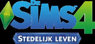 De Sims 4: Stedelijk Leven logo