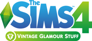 The Sims 4: Vintage Glamour Stuff logo