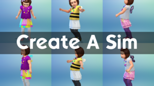 The Sims 4: Toddler Stuff - Create A Sim Overview