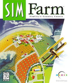 Sim Farm SimFarm packshot box art