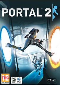 Portal 2 box art packshot
