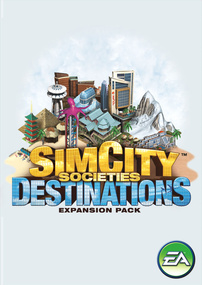 SimCity Societies: Destinations box art packshot