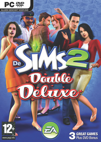 De Sims 2: Double Deluxe box art packshot