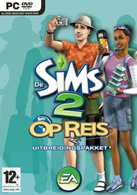 De Sims 2: Op Reis box art packshot