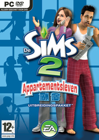 De Sims 2: Appartementsleven box art packshot