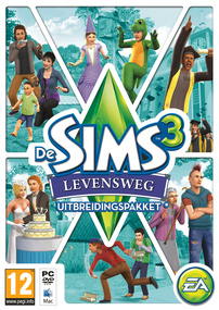 De Sims 3: Levensweg box art packshot