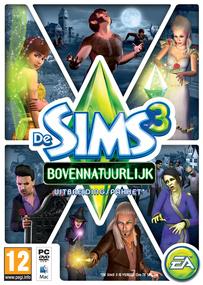 De Sims 3: Bovennatuurlijk box art packshot