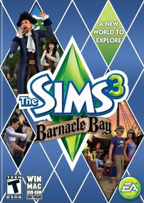The Sims 3: Barnacle Bay box art packshot