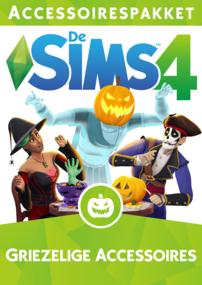 De Sims 4: Griezelige Accessoires box art packshot