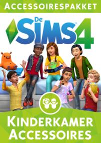 De Sims 4: Kinderkamer Accessoires box art packshot