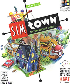 SimTown Sim Town packshot box art