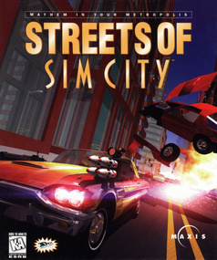 Streets of SimCity packshot box art