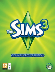 The Sims 3: Commemorative Edition packshot box art