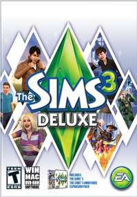 The Sims 3 Deluxe packshot box art