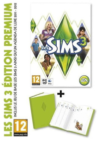 Les Sims 3 + Agenda Deluxe (Edition Premium) packshot box art