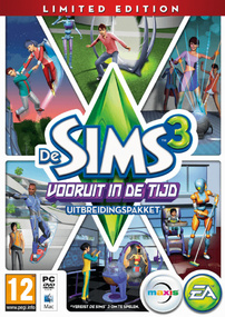 De Sims 3: Vooruit in de Tijd (Limited Edition) packshot box art