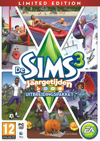 De Sims 3: Jaargetijden (Limited Edition) packshot box art