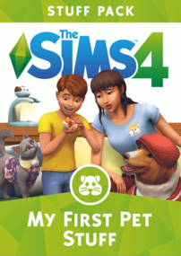 The Sims 4: My FIrst Pet Stuff packshot box art cover