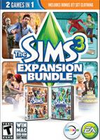 The Sims 3: Expansion Bundle packshot box art