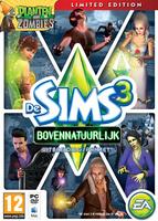 De Sims 3: Bovennatuurlijk (Limited Edition) packshot box art