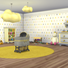 Nursery Walls Set #9 - Basics + Triangles