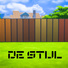 De Stijl Wooden Wall Panels (Full) #1
