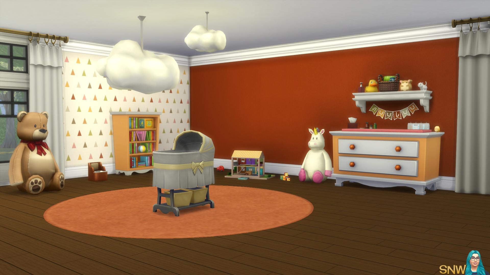 Nursery Walls Set #4 - Basics + Triangles
