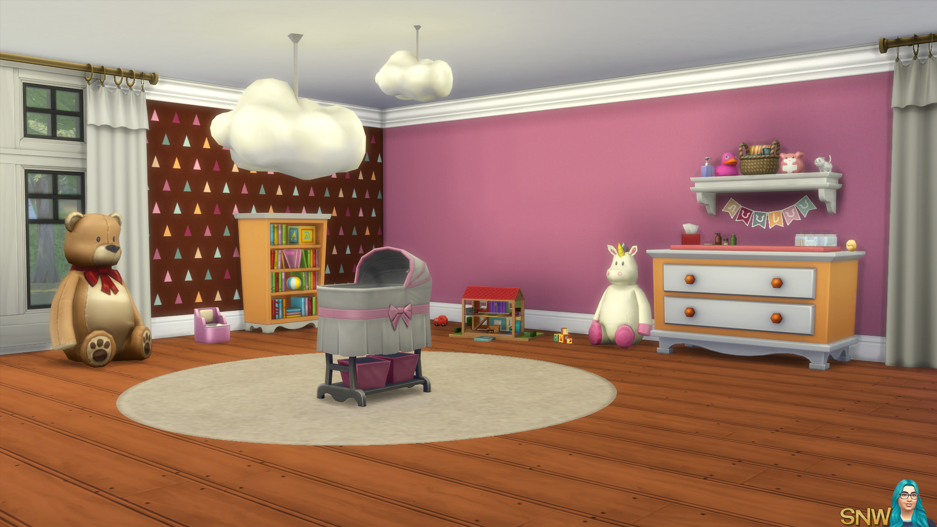 Nursery Walls Set #7 - Basics + Triangles