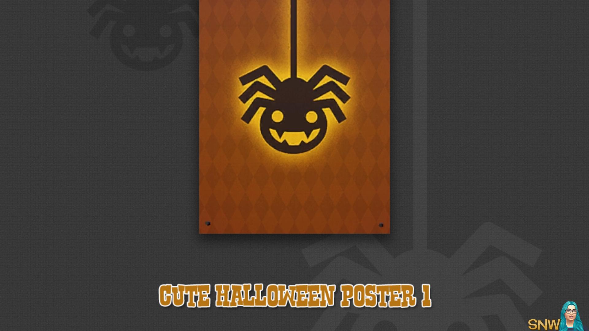 Cute Halloween poster #1 (Spidey)