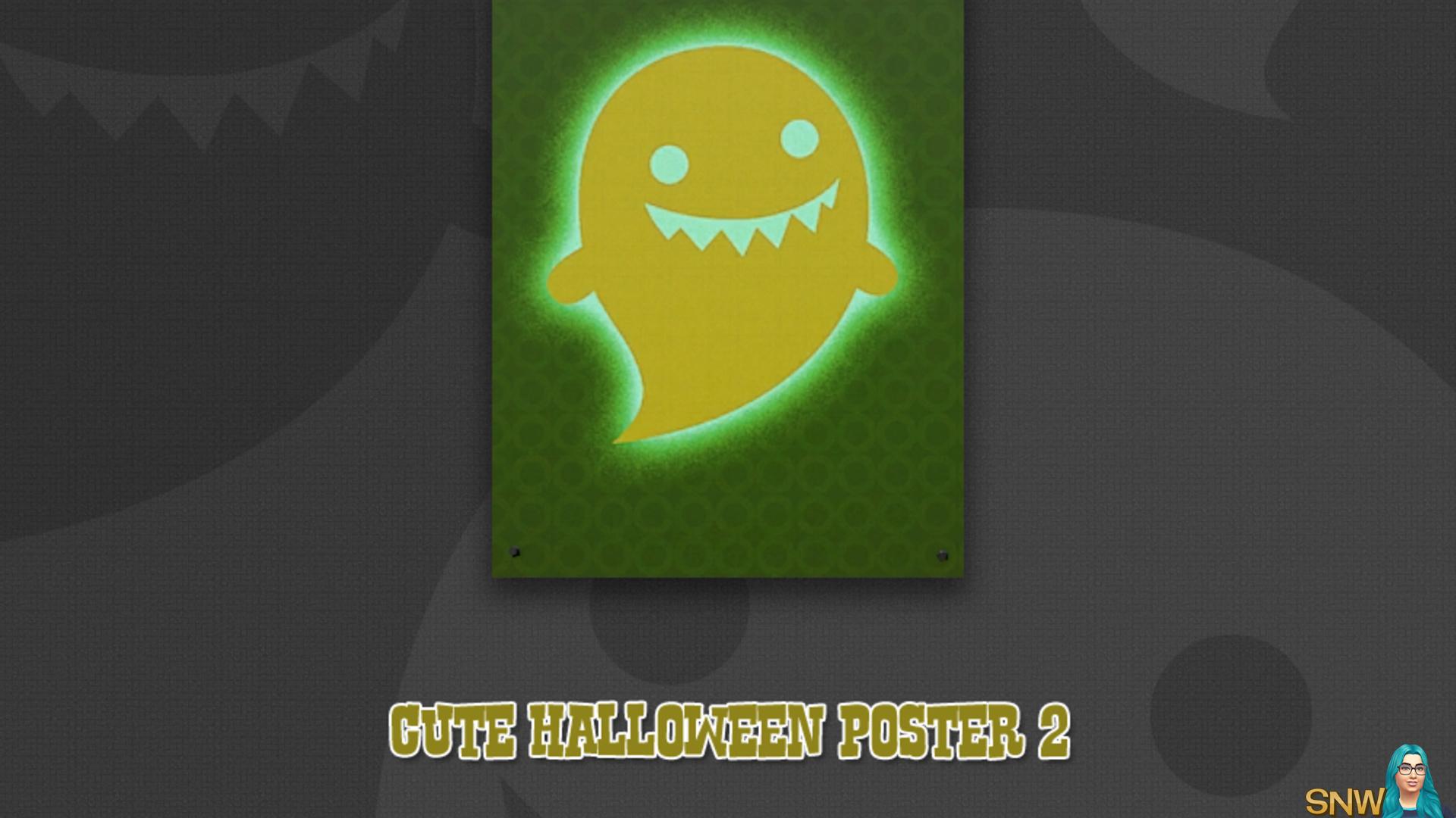 Cute Halloween poster #2 (Spooky)
