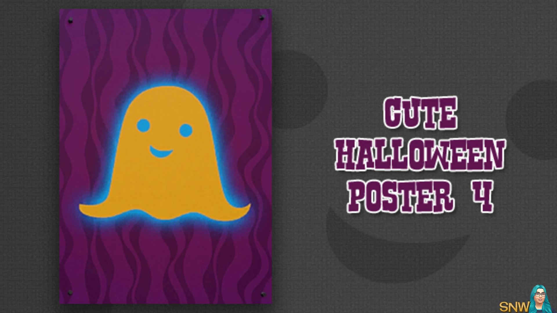 Cute Halloween poster #4 (Another spooky)