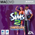 The Sims 2: Nightlife for Mac box art packshot jewel case