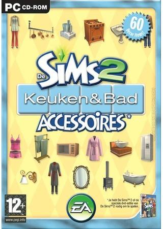 De Sims 2: Keuken- & Bad Accessoires box art packshot
