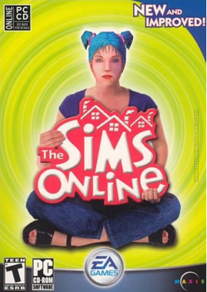 The Sims Online (New and Improved) box art packshot