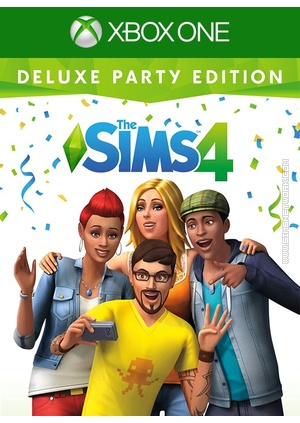 The Sims (Deluxe Party Edition) on Xbox One packshot box art