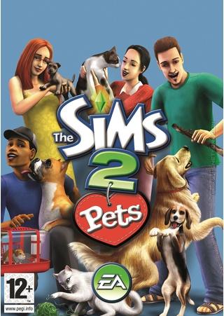 The Sims 2 Pets Box Art Packshot