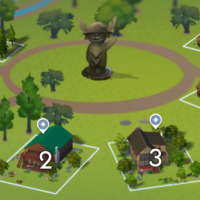 The Sims 4: Granite Falls world neighbourhood #1