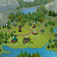 The Sims 4: Granite Falls world