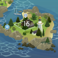 The Sims 4: Brindleton Bay world neighbourhood #4