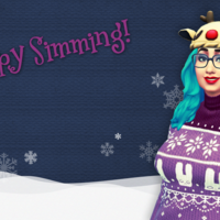 Happy Simming Christmas 2015 wallpaper