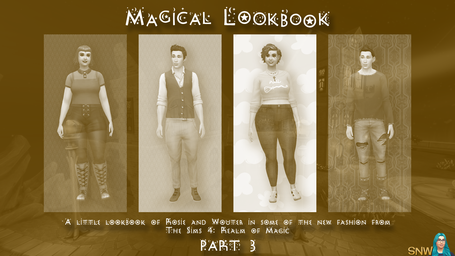 The Sims 4: Realm of Magic - A Little Lookbook by Rosie and Cheetah - Part 3